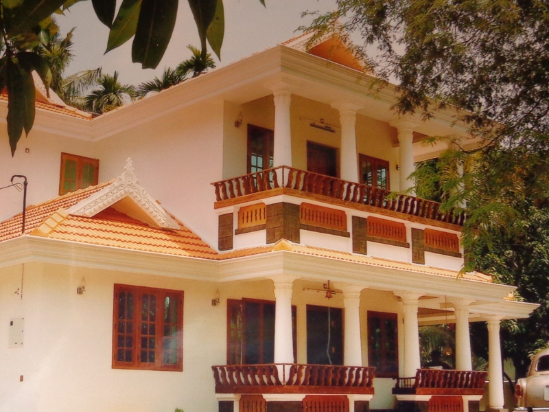 residential land with house for sale in valapad thrissur land in kerala