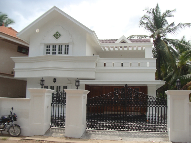 residential land with house for sale at poojappura